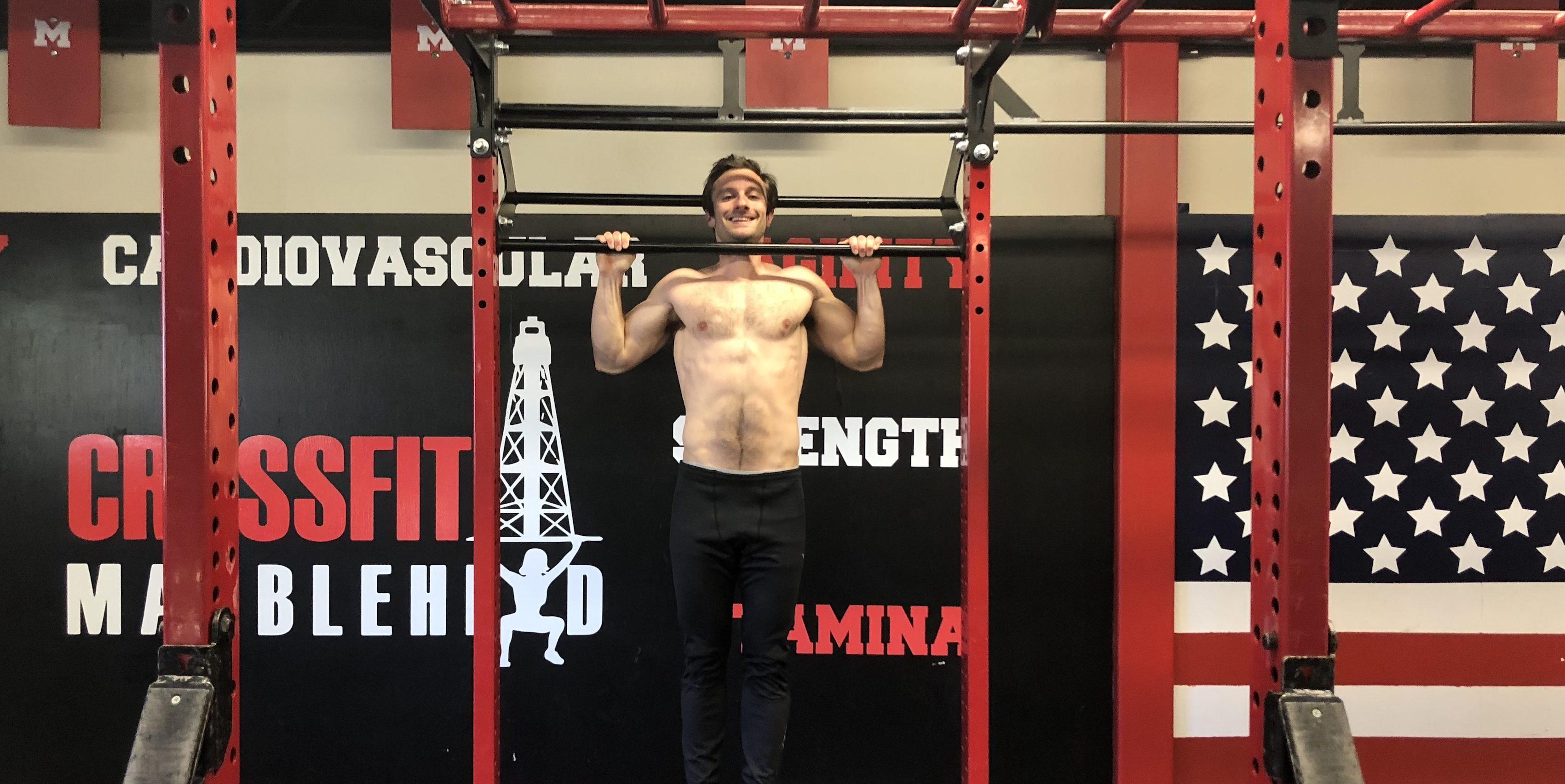 Adam Sandel pull-ups