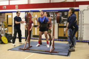 Adam Sandel, BDFPA National Powerlifting Competition 2009